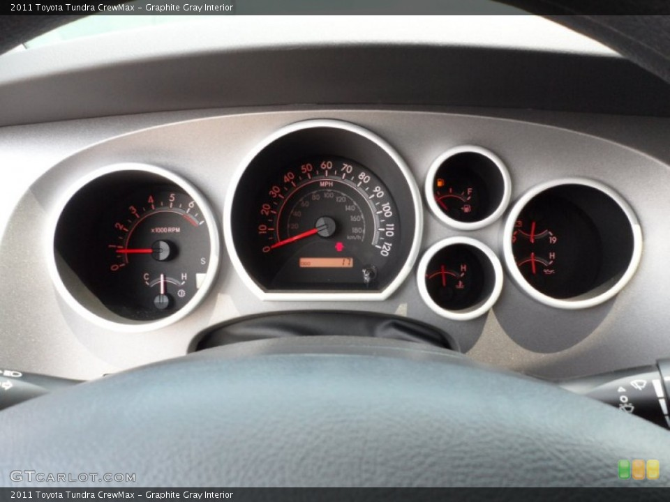 Graphite Gray Interior Gauges for the 2011 Toyota Tundra CrewMax #51321307
