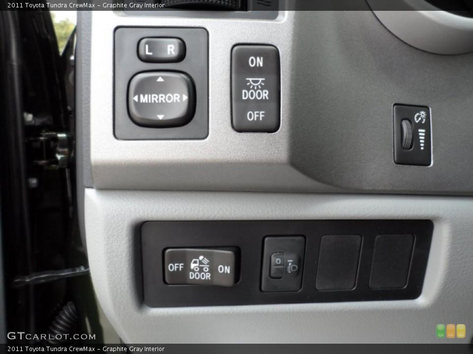 Graphite Gray Interior Controls for the 2011 Toyota Tundra CrewMax #51321322