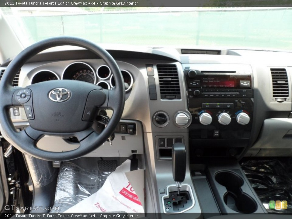 Graphite Gray Interior Dashboard for the 2011 Toyota Tundra T-Force Edition CrewMax 4x4 #51323071