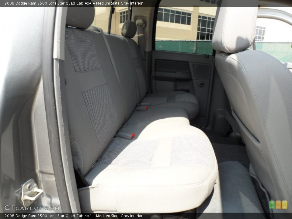 Medium Slate Gray Interior Photo for the 2008 Dodge Ram 3500 Lone Star Quad Cab 4x4 #51333874