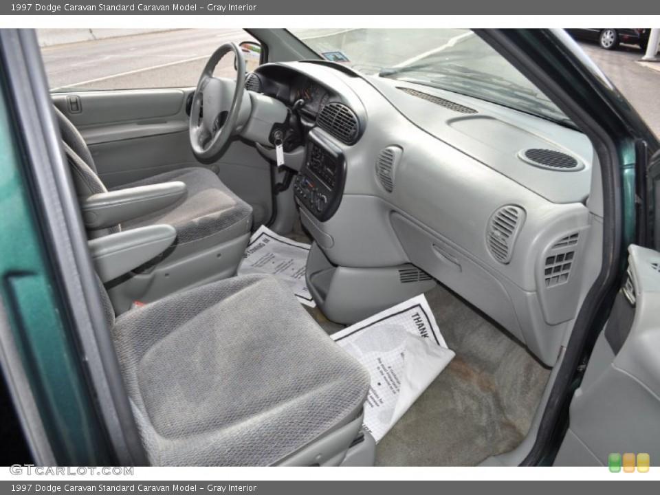 Gray 1997 Dodge Caravan Interiors