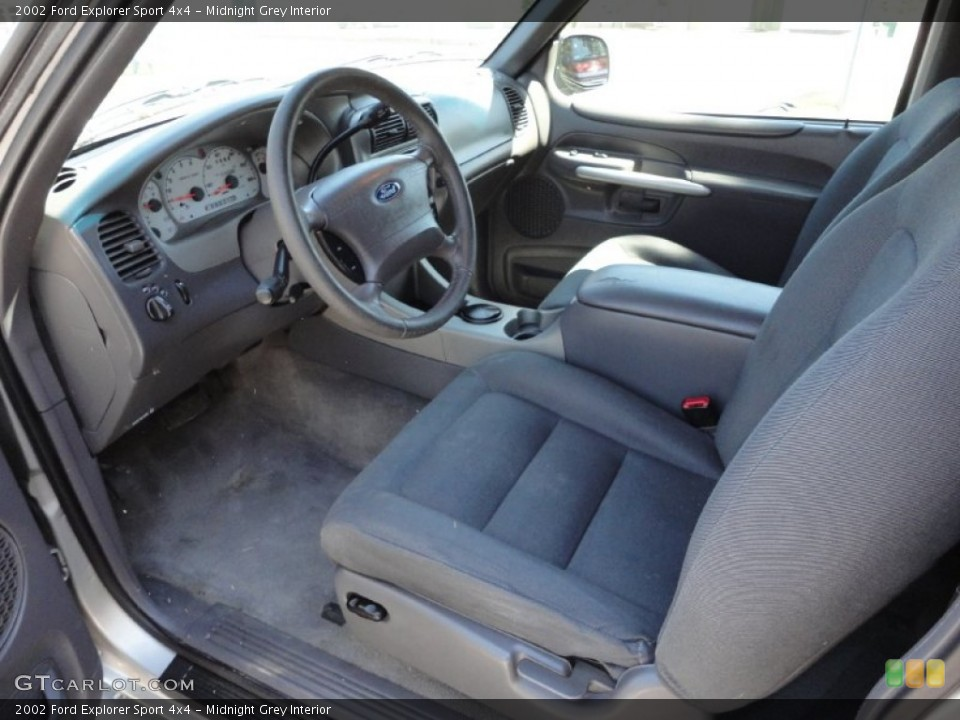 Midnight Grey Interior Photo for the 2002 Ford Explorer Sport 4x4 #51399698