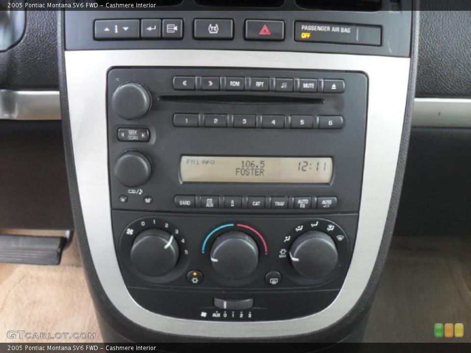 Cashmere Interior Controls for the 2005 Pontiac Montana SV6 FWD #51481015