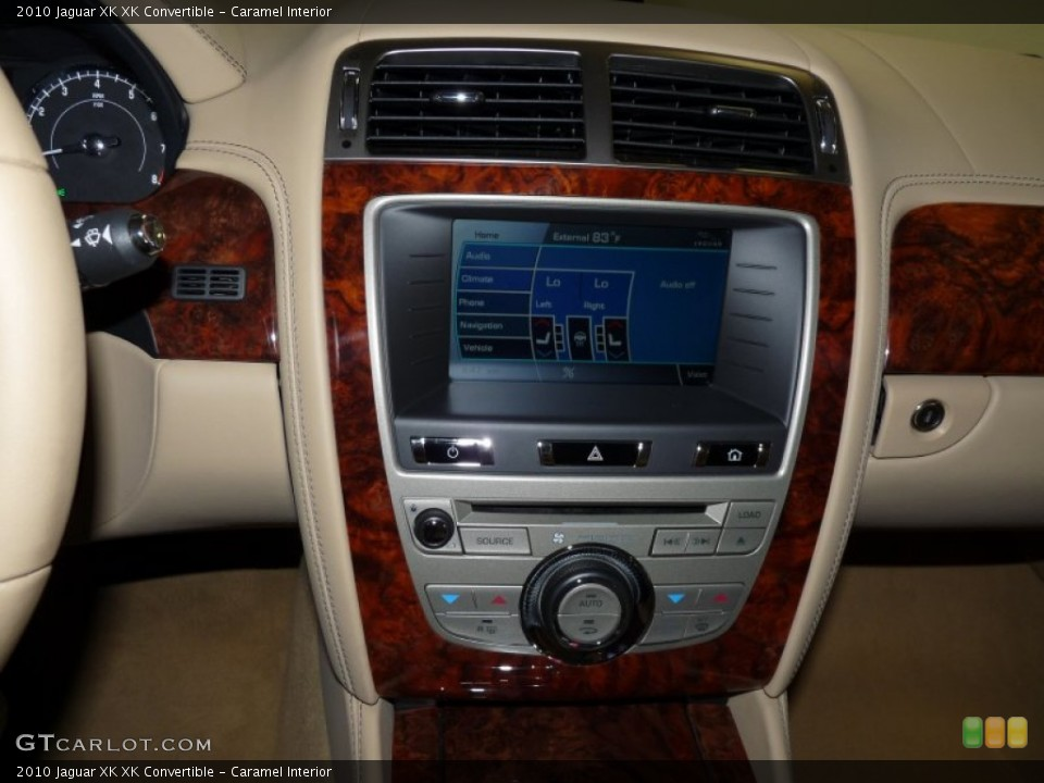 Caramel Interior Controls for the 2010 Jaguar XK XK Convertible #51504397
