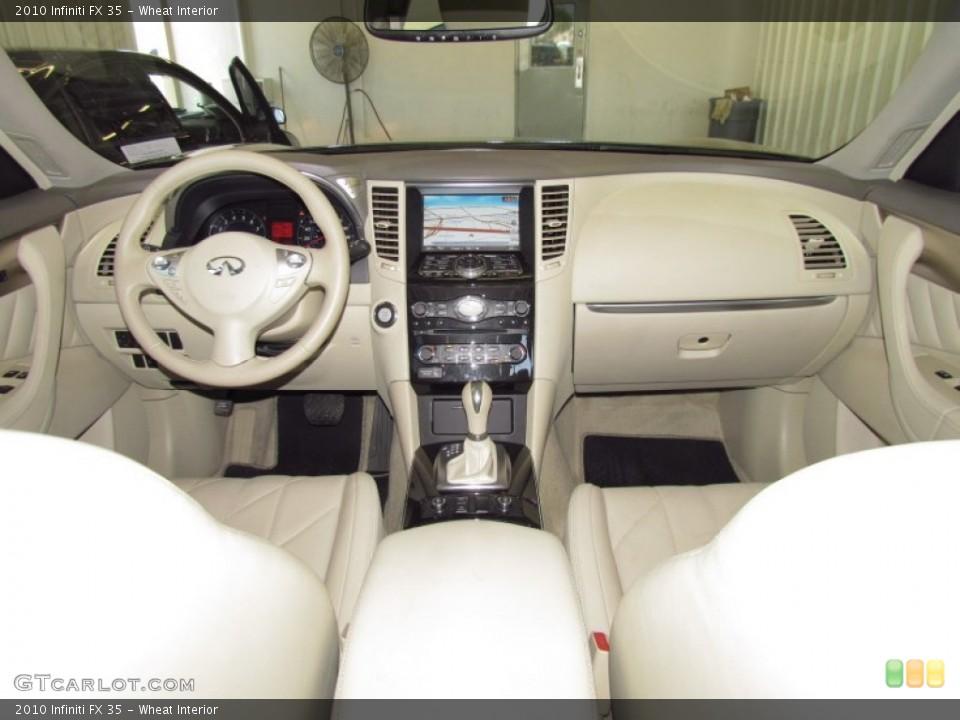 Wheat Interior Dashboard for the 2010 Infiniti FX 35 #51560814