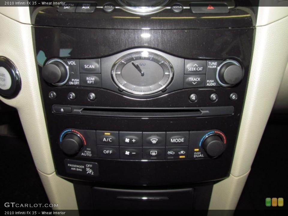 Wheat Interior Controls for the 2010 Infiniti FX 35 #51560859