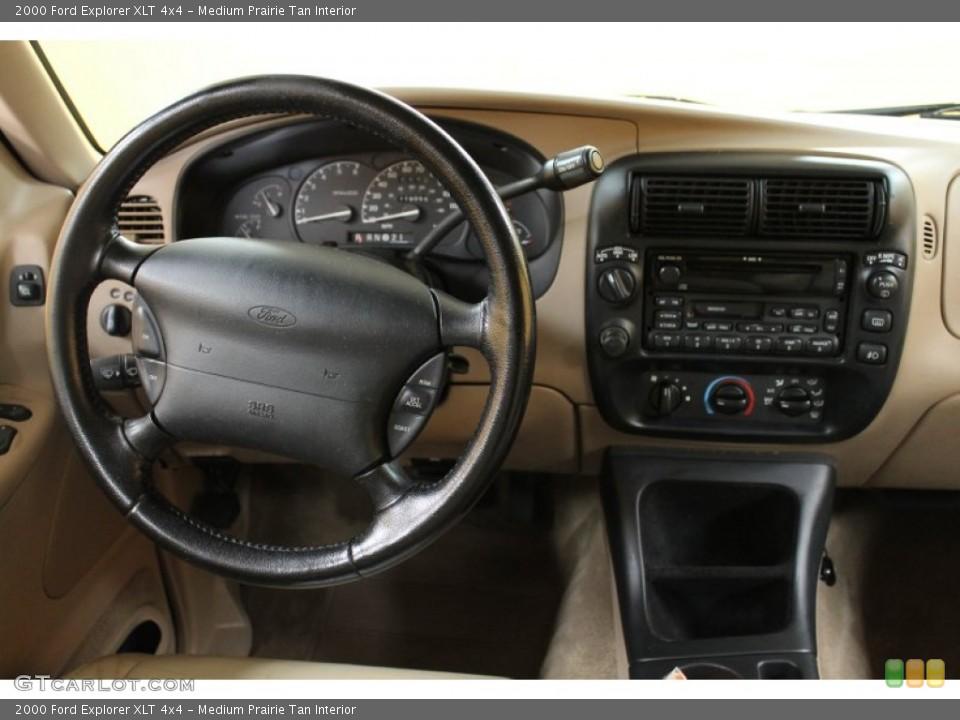 Medium Prairie Tan Interior Dashboard for the 2000 Ford Explorer XLT 4x4 #51607177  GTCarLot.com