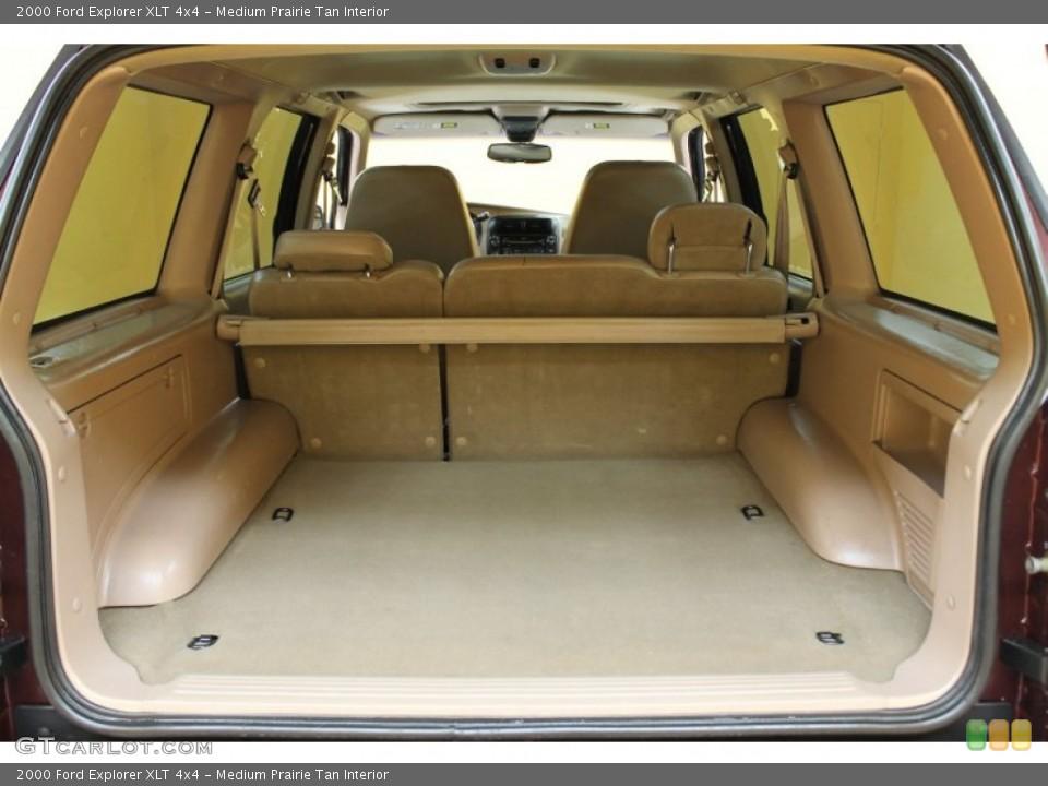 Medium Prairie Tan Interior Trunk for the 2000 Ford Explorer XLT 4x4 #51607264