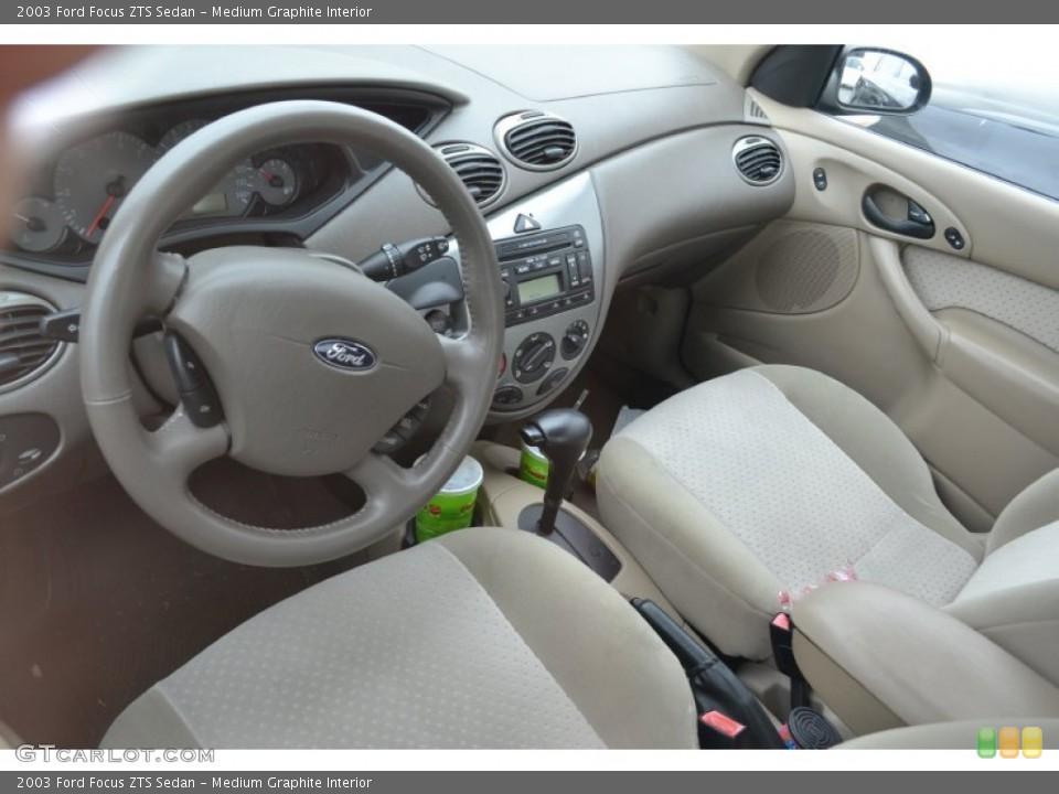 Medium Graphite 2003 Ford Focus Interiors