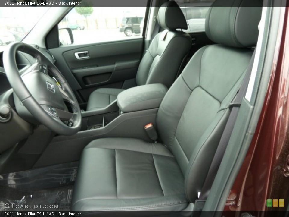 Black Interior Photo for the 2011 Honda Pilot EX-L 4WD #51614944