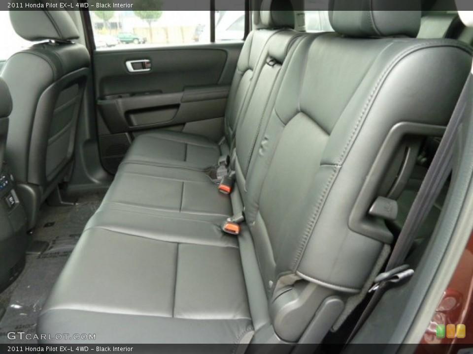 Black Interior Photo for the 2011 Honda Pilot EX-L 4WD #51614959