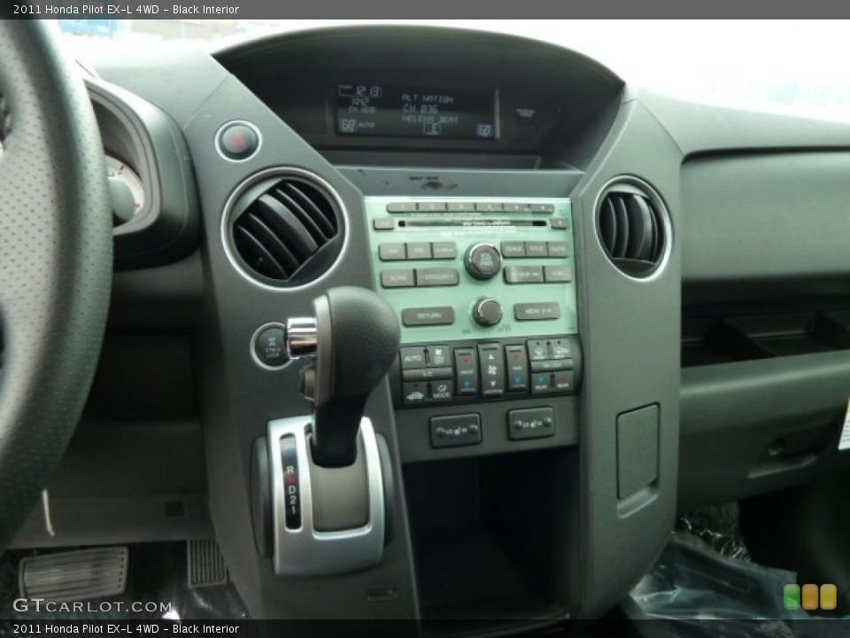 Black Interior Controls for the 2011 Honda Pilot EX-L 4WD #51615052
