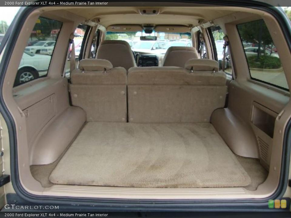 Medium Prairie Tan Interior Trunk for the 2000 Ford Explorer XLT 4x4 #51619678