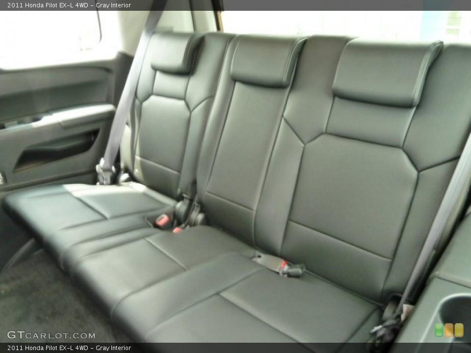 Gray Interior Photo for the 2011 Honda Pilot EX-L 4WD #51668767