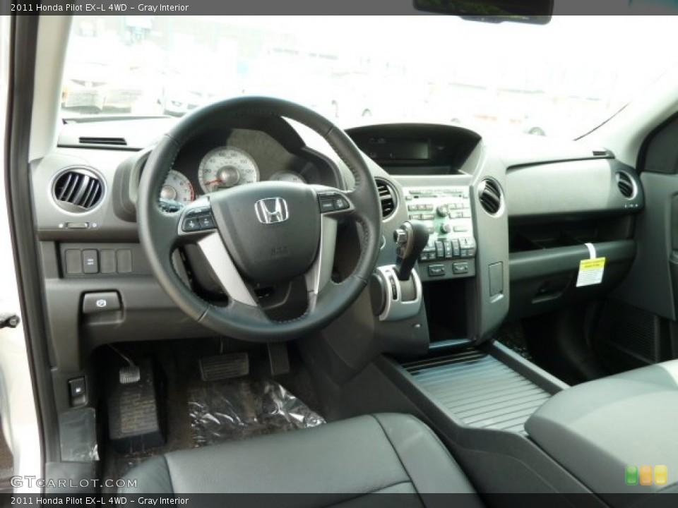 Gray Interior Dashboard for the 2011 Honda Pilot EX-L 4WD #51668770