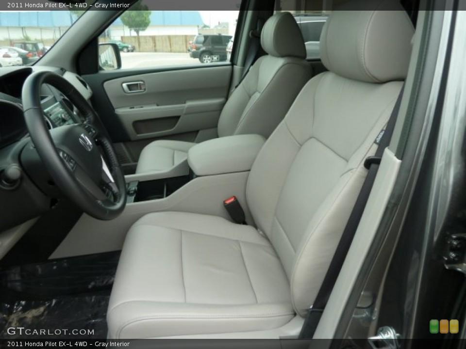 Gray Interior Photo for the 2011 Honda Pilot EX-L 4WD #51669055