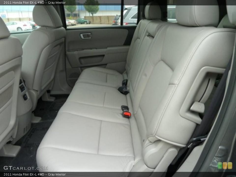 Gray Interior Photo for the 2011 Honda Pilot EX-L 4WD #51669058