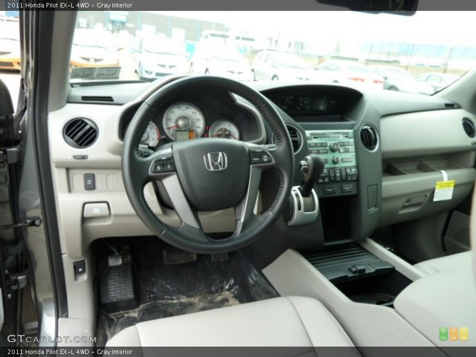Gray Interior Dashboard for the 2011 Honda Pilot EX-L 4WD #51669064