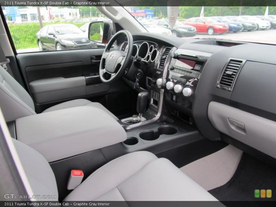 Graphite Gray Interior Photo for the 2011 Toyota Tundra X-SP Double Cab #51743248