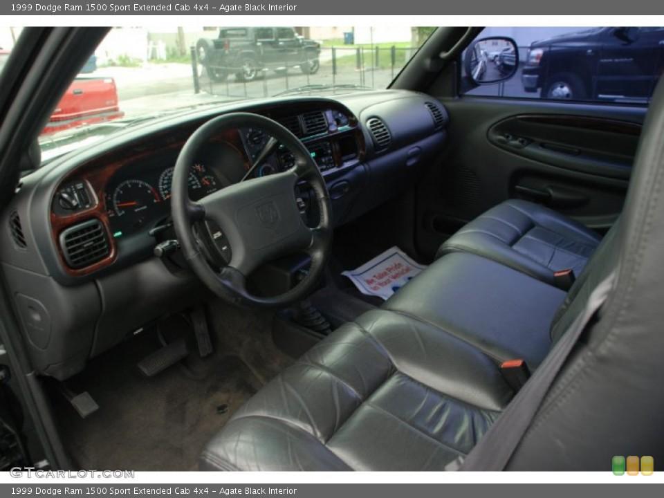 Agate Black 1999 Dodge Ram 1500 Interiors