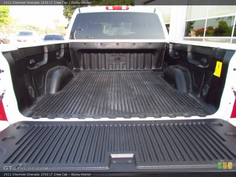 Ebony Interior Trunk for the 2011 Chevrolet Silverado 1500 LT Crew Cab #51980198