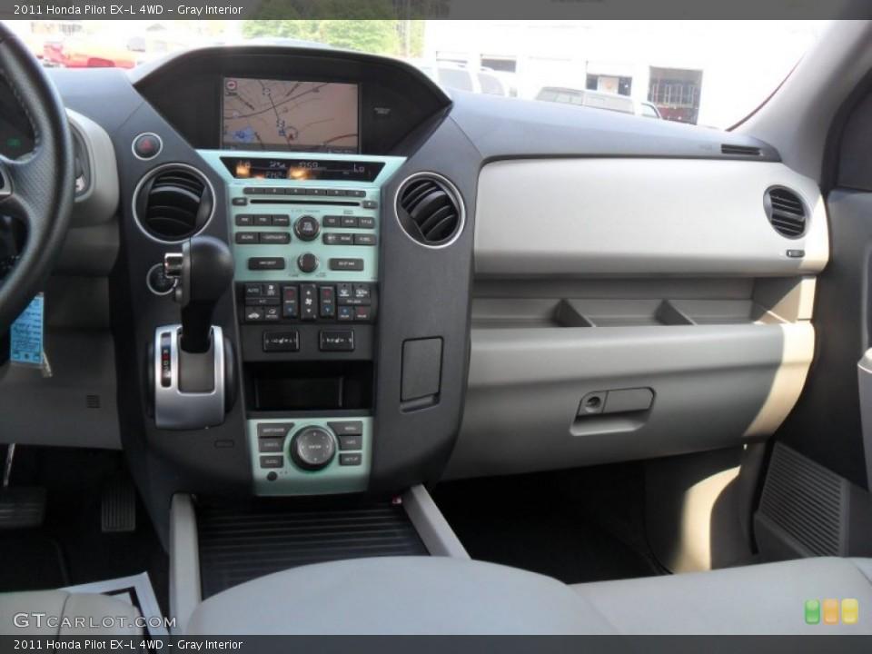 Gray Interior Dashboard for the 2011 Honda Pilot EX-L 4WD #51983762