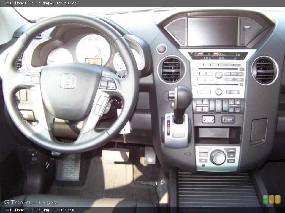 Black Interior Dashboard for the 2011 Honda Pilot Touring #51999387