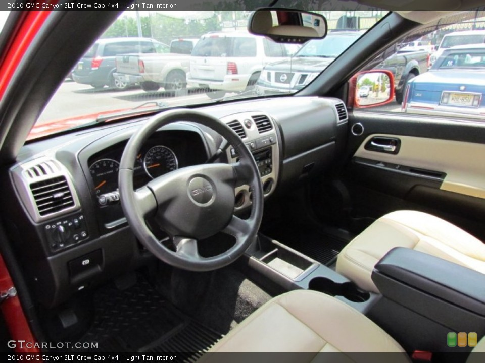 Light Tan Interior Photo for the 2010 GMC Canyon SLT Crew Cab 4x4 #52030143