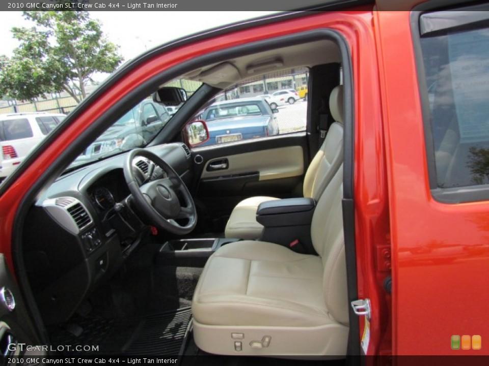 Light Tan Interior Photo for the 2010 GMC Canyon SLT Crew Cab 4x4 #52030167