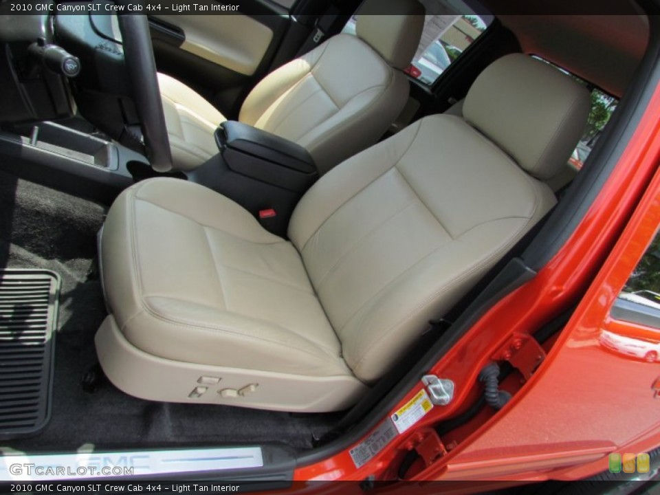 Light Tan Interior Photo for the 2010 GMC Canyon SLT Crew Cab 4x4 #52030224