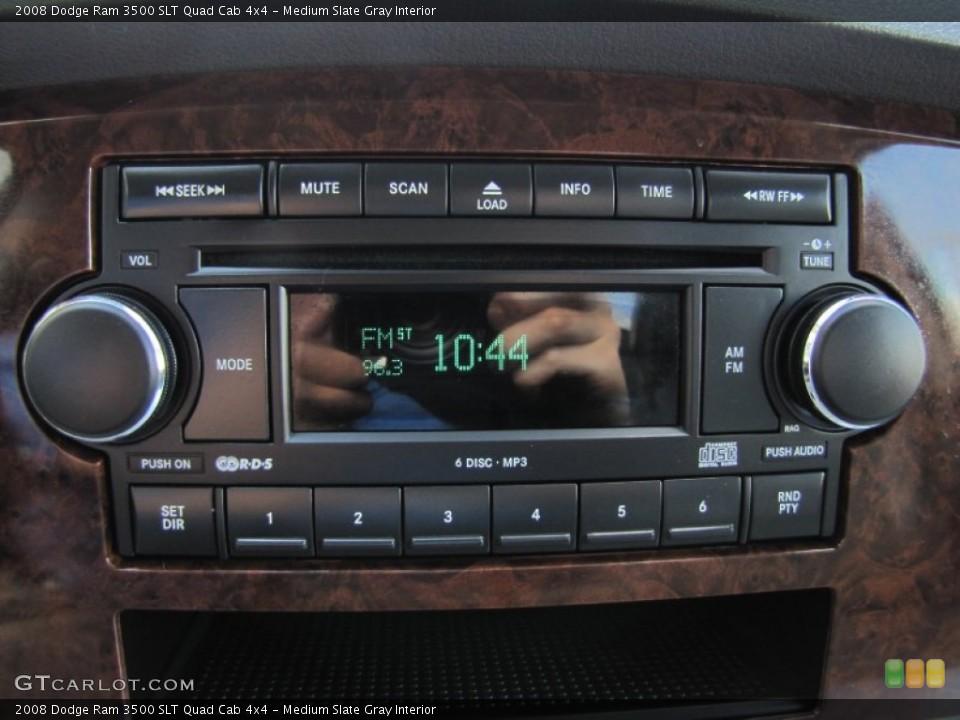 Medium Slate Gray Interior Controls for the 2008 Dodge Ram 3500 SLT Quad Cab 4x4 #52076804