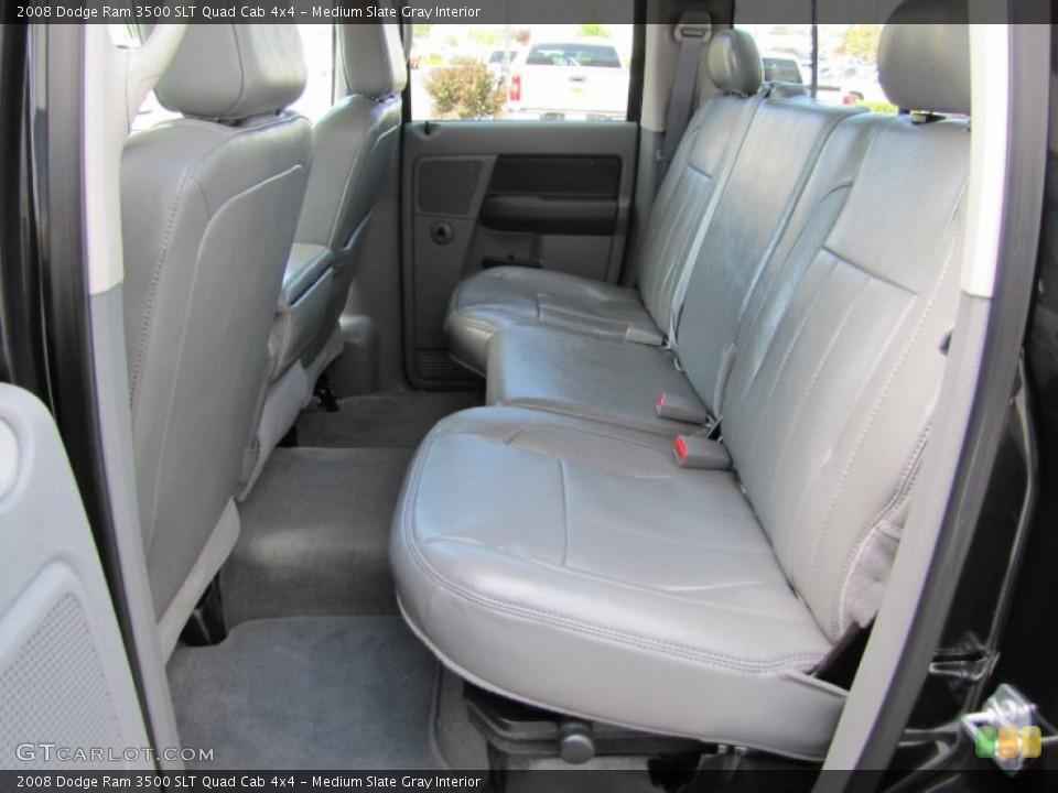 Medium Slate Gray Interior Photo for the 2008 Dodge Ram 3500 SLT Quad Cab 4x4 #52076879