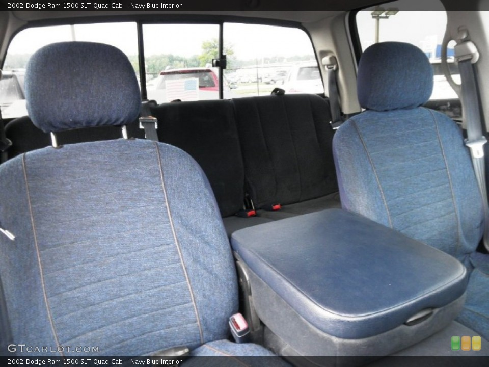 Navy Blue 2002 Dodge Ram 1500 Interiors