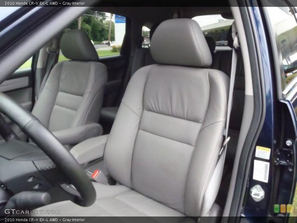 Gray Interior Photo for the 2010 Honda CR-V EX-L AWD #52133467