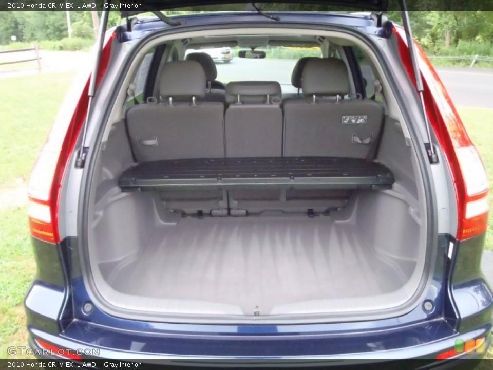 Gray Interior Trunk for the 2010 Honda CR-V EX-L AWD #52133500