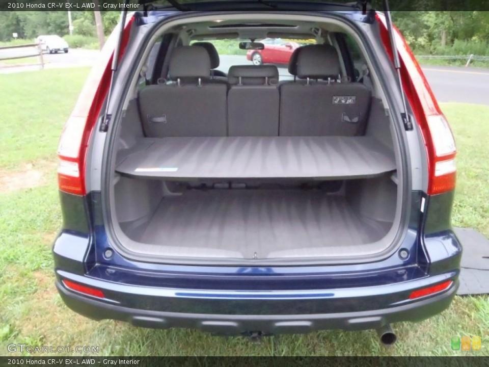 Gray Interior Trunk for the 2010 Honda CR-V EX-L AWD #52133512