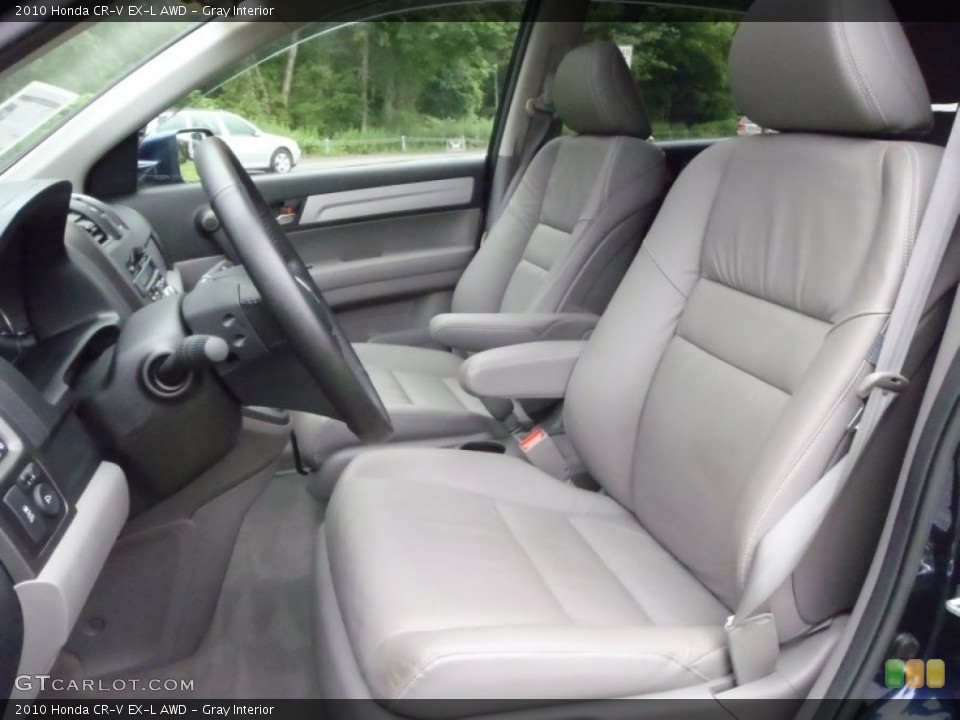 Gray Interior Photo for the 2010 Honda CR-V EX-L AWD #52133581