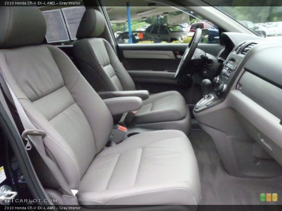 Gray Interior Photo for the 2010 Honda CR-V EX-L AWD #52133608