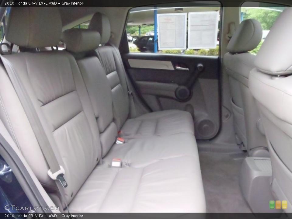 Gray Interior Photo for the 2010 Honda CR-V EX-L AWD #52133623
