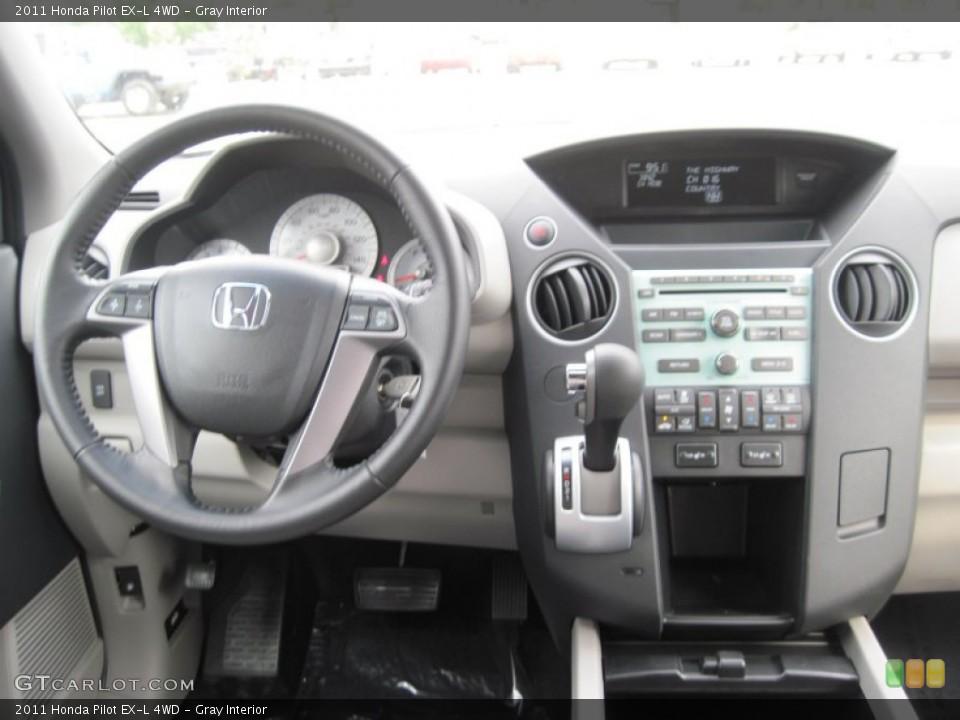 Gray Interior Dashboard for the 2011 Honda Pilot EX-L 4WD #52189657