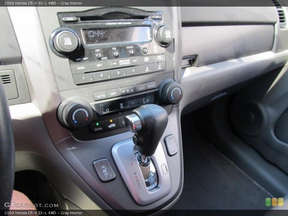 Gray Interior Transmission for the 2009 Honda CR-V EX-L 4WD #52218676