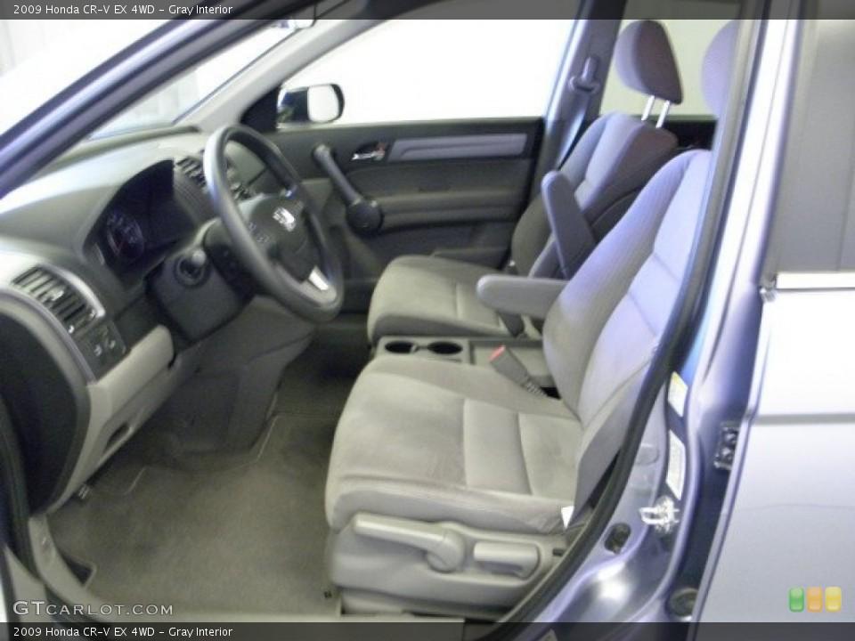 Gray Interior Photo for the 2009 Honda CR-V EX 4WD #52261252