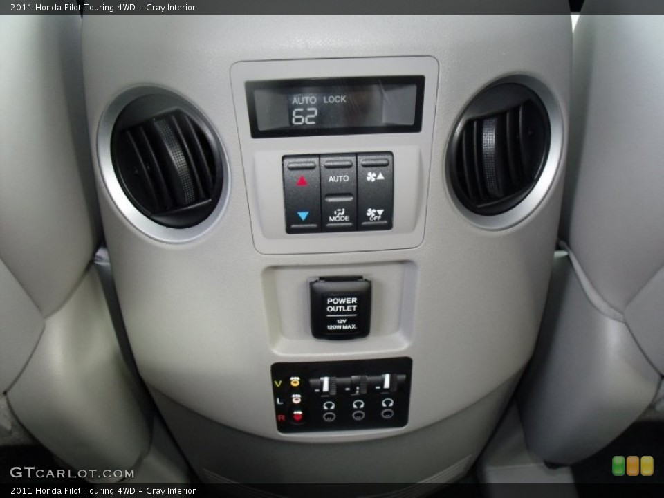 Gray Interior Controls for the 2011 Honda Pilot Touring 4WD #52284215
