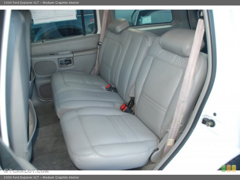 Medium Graphite Interior Photo for the 2000 Ford Explorer XLT #52376089