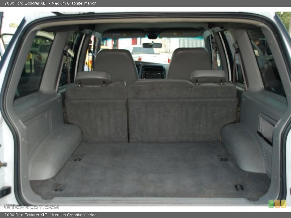 Medium Graphite Interior Trunk for the 2000 Ford Explorer XLT #52376101