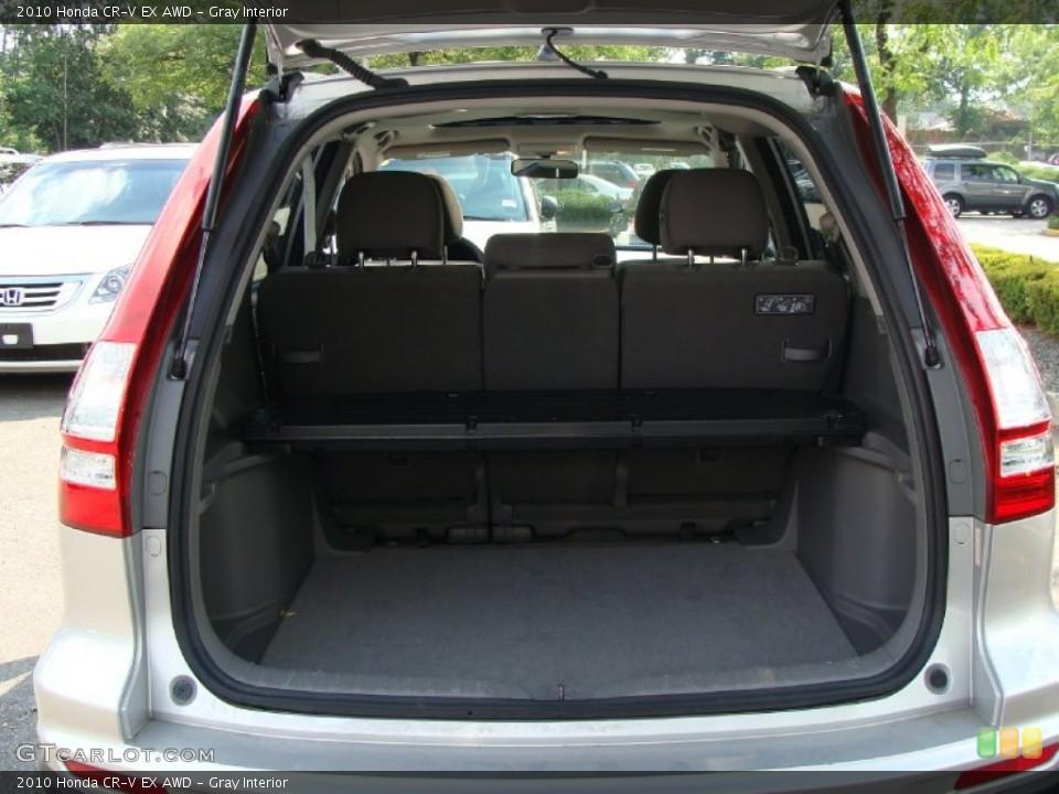 Gray Interior Trunk for the 2010 Honda CR-V EX AWD #52400538
