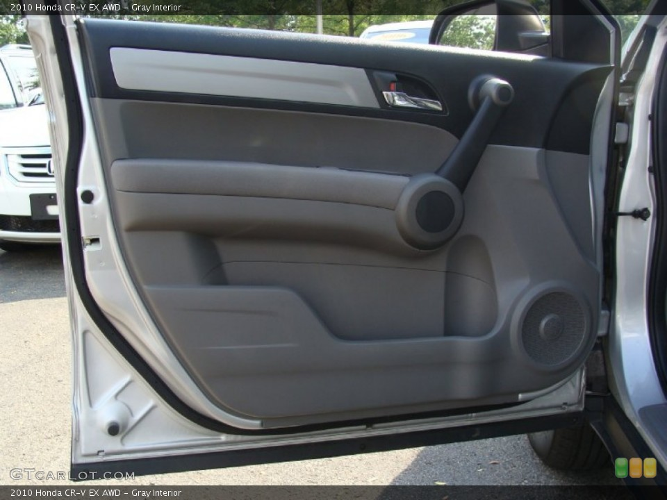 Gray Interior Door Panel for the 2010 Honda CR-V EX AWD #52400646