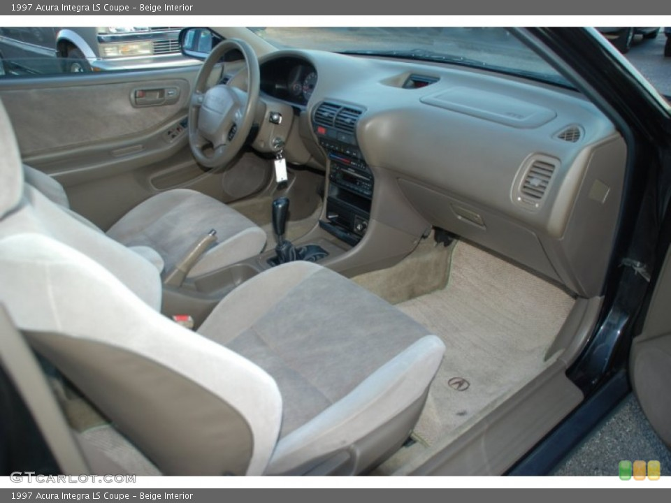 Beige Interior Dashboard for the 1997 Acura Integra LS Coupe #52467524 ...