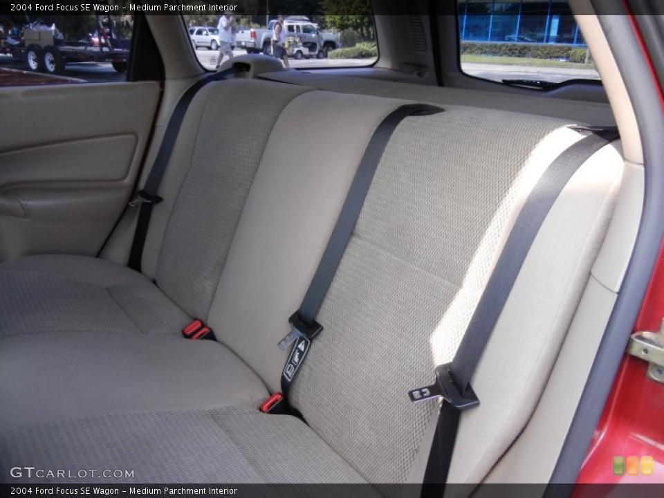 Medium Parchment 2004 Ford Focus Interiors