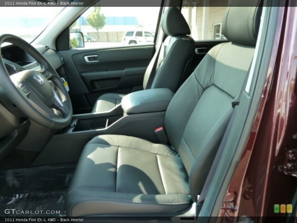 Black Interior Photo for the 2011 Honda Pilot EX-L 4WD #52473944